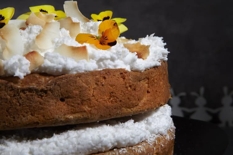 Carrot cake de Pâques vegan au Violife