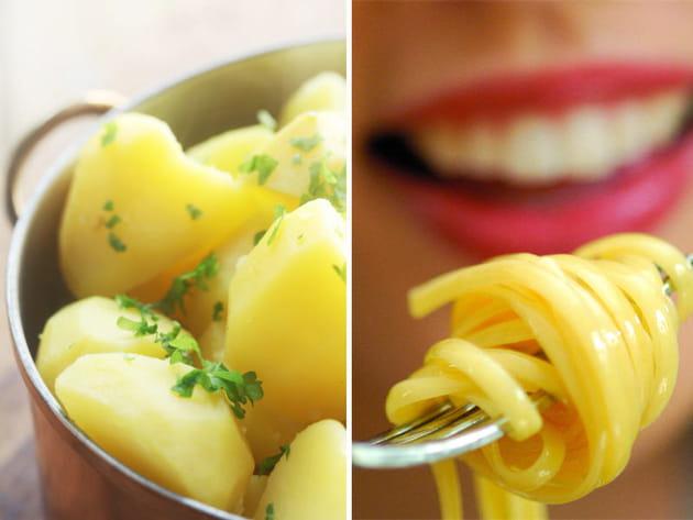 Pommes de terre à l'eau ou pâtes ?