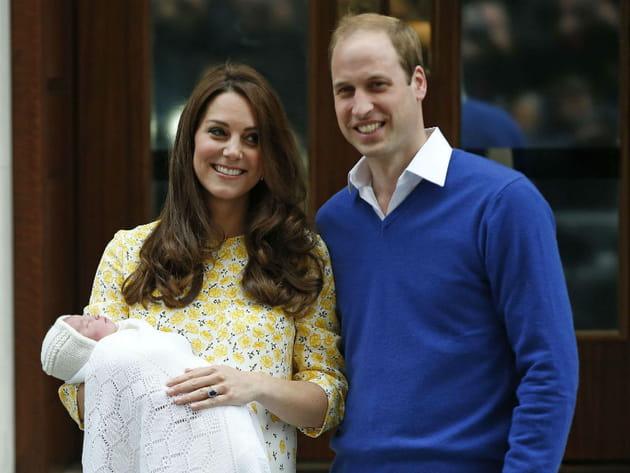 Kate, radieuse après avoir accouché de sa fille