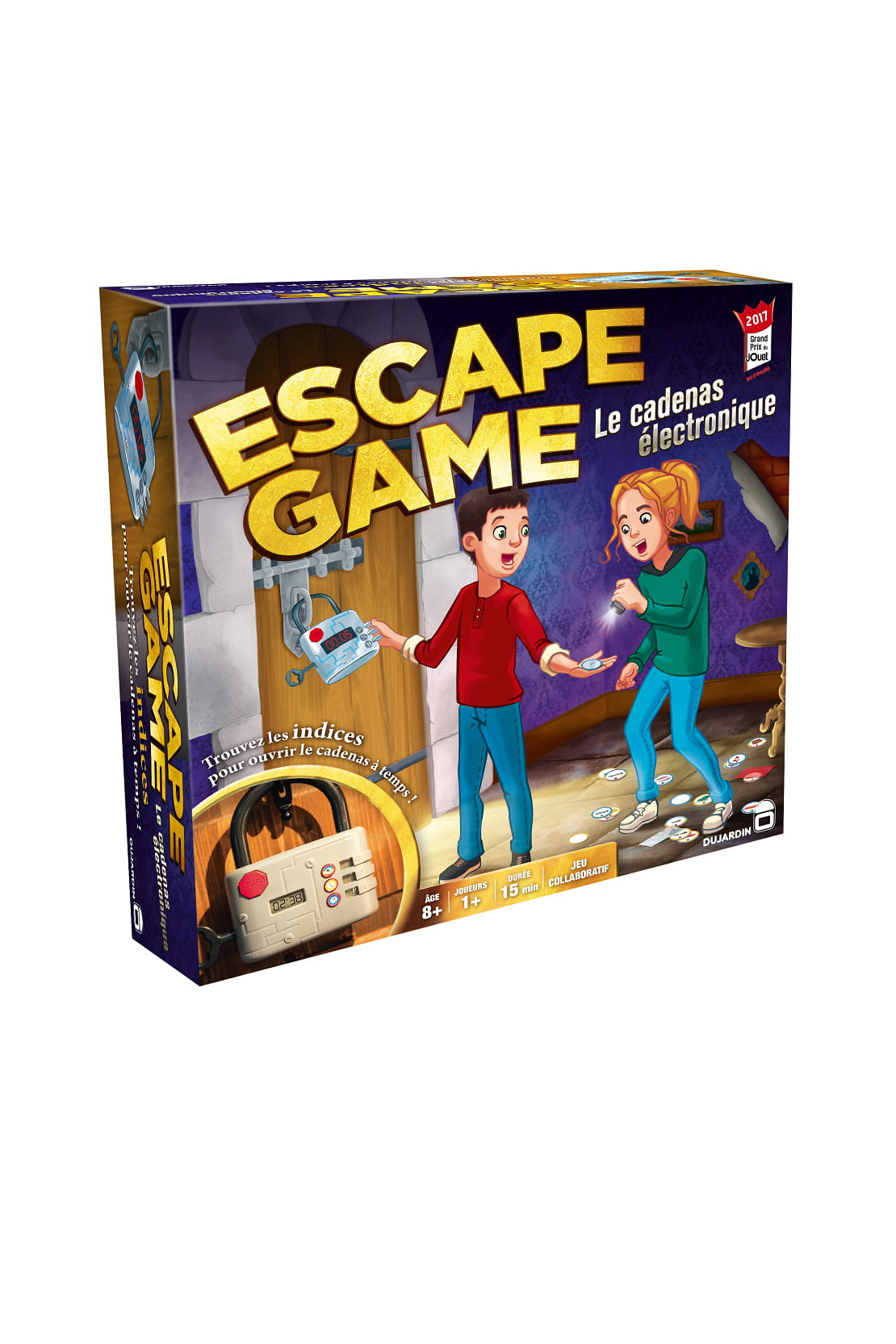 Jeu escape game dujardin for 99 f dujardin