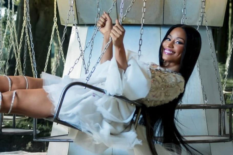 H&M sublime Nicki Minaj pour sa collection de Noël