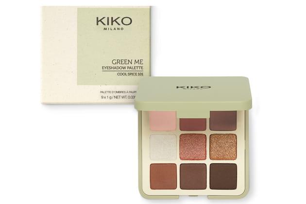 Calendrier De Lavent Kiko 2019.Eyeshadow Palette Green Me Kiko