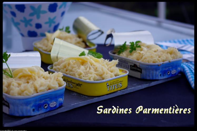 Sardines parmentières
