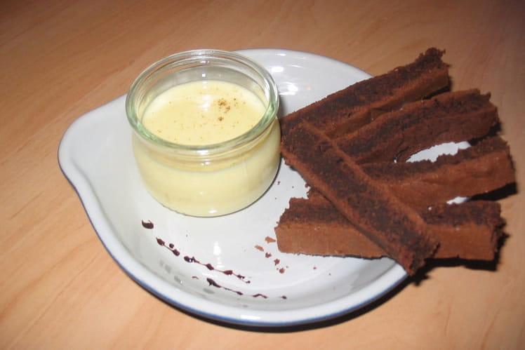 Mouillettes de gâteau au chocolat