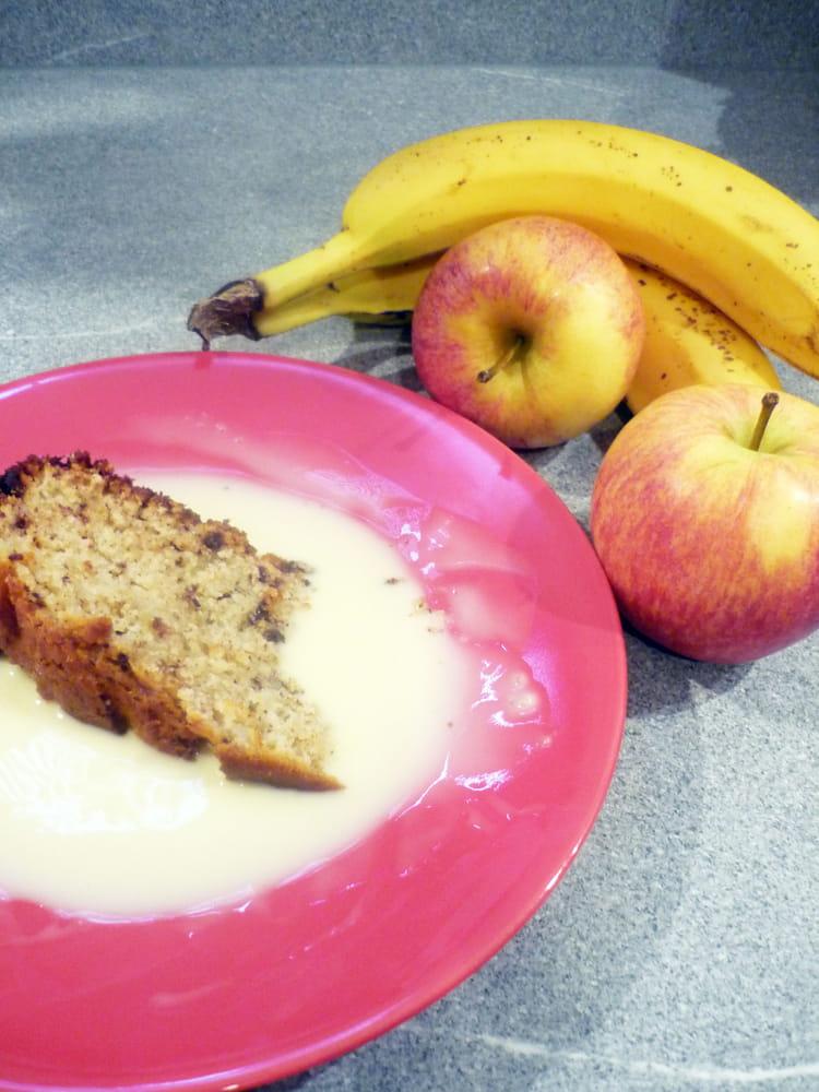 recette de g teau au yaourt au chocolat pomme banane la. Black Bedroom Furniture Sets. Home Design Ideas
