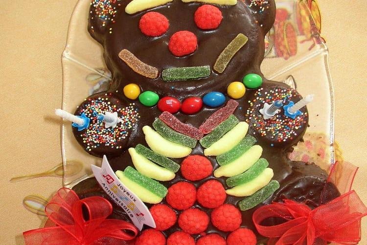 Gâteau nounours au chocolat