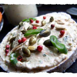 tartinade de surimi aux graines grillées