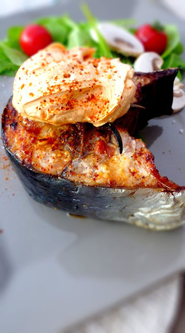 Recette de thon grill la sauce au paprika fum la for Marinade au paprika pour barbecue