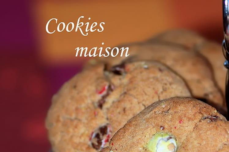 Cookies maison aux Smarties