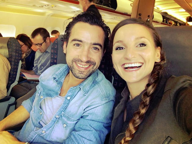 Noémie Honiat et Pierre Augé, ensemble en Suisse