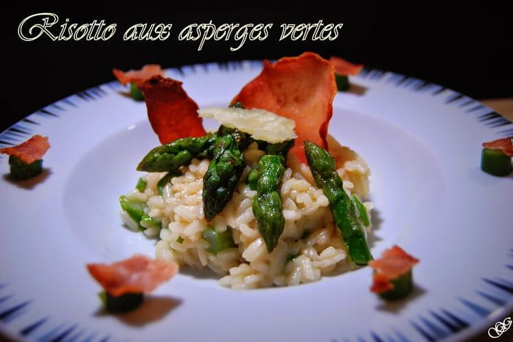 Recette risotto aux asperges vertes risotto - Cuisiner les asperges vertes ...