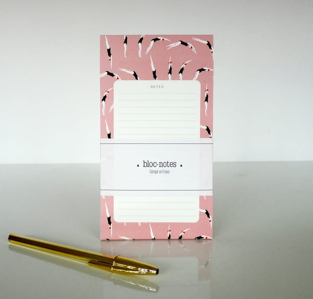 Bloc-notes Plongeuses par Season Paper