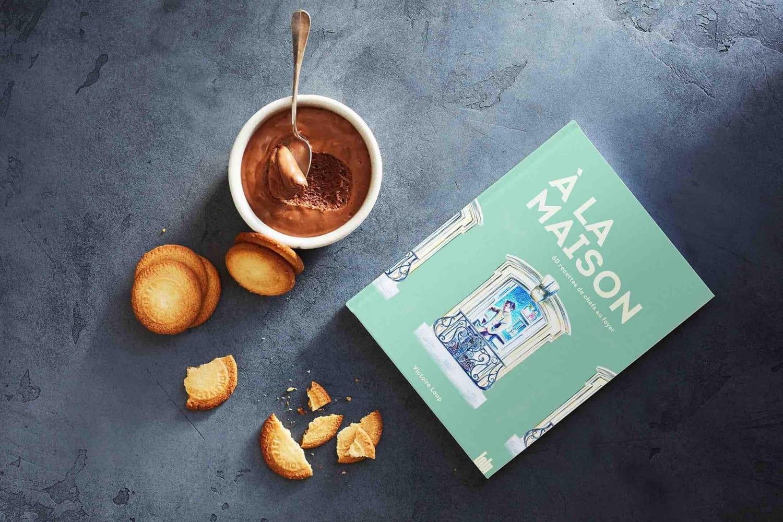 """""""À la maison"""": le livre solidaire de recettes élaborées par des grands chefs"""