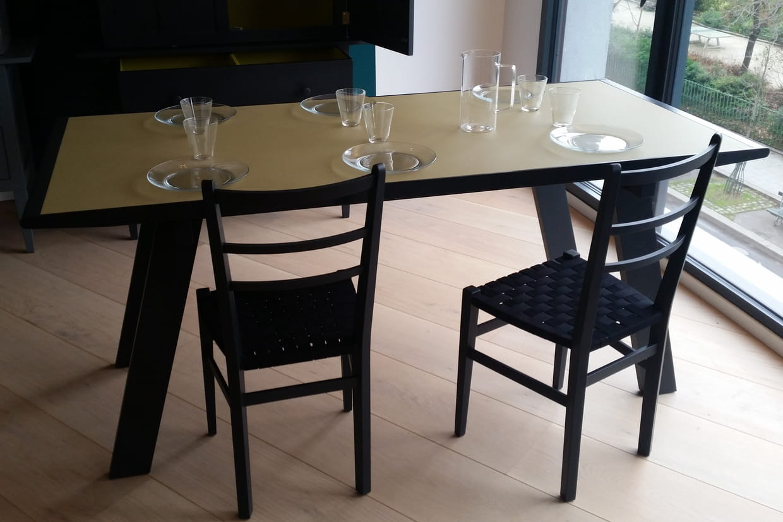 table brabant decoclico edition. Black Bedroom Furniture Sets. Home Design Ideas