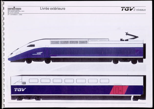 Le TGV Duplex de la SNCF