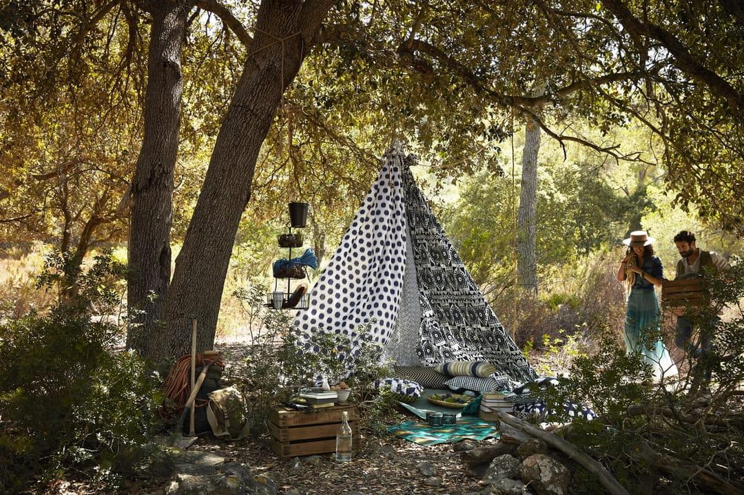 jardin boh me chic succombez la tendance. Black Bedroom Furniture Sets. Home Design Ideas