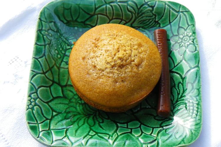 Muffins Carambar et beurre salé