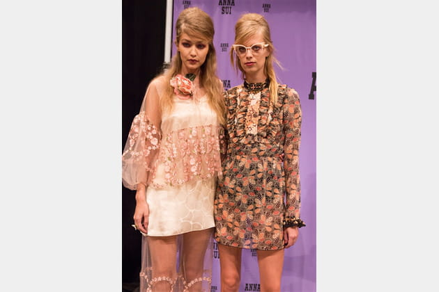 Anna Sui (Backstage) - photo 41