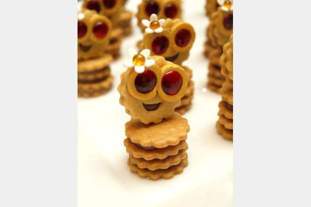 Le biscuit qui sourit