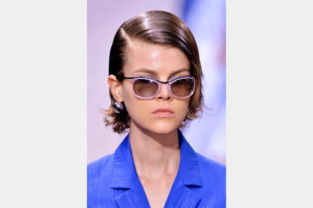 Les lunettes transparentes de Kenzo