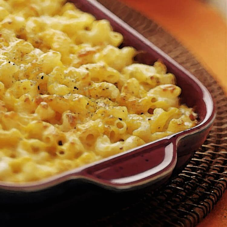 Recette de gratin de macaroni aux champignons de paris la recette facile - Champignon de paris recette poelee ...