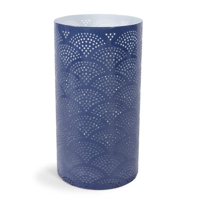 Bougeoir Azzuro bleu indigo de Maisons du Monde