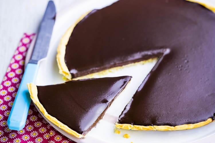 Tarte au chocolat Poulain Carambar