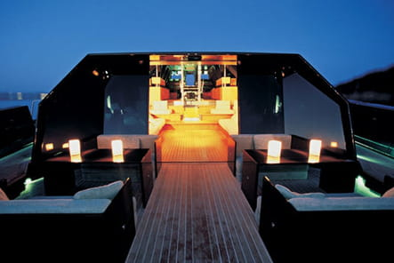 Un vrai bateau design