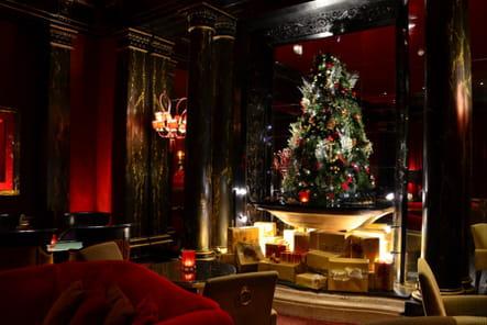 Le sapin de Noël de l'Hôtel du Louvre Hyatt