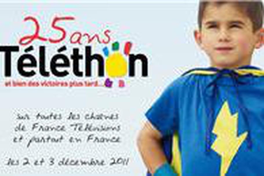 25e Téléthon : 86 119 425 euros
