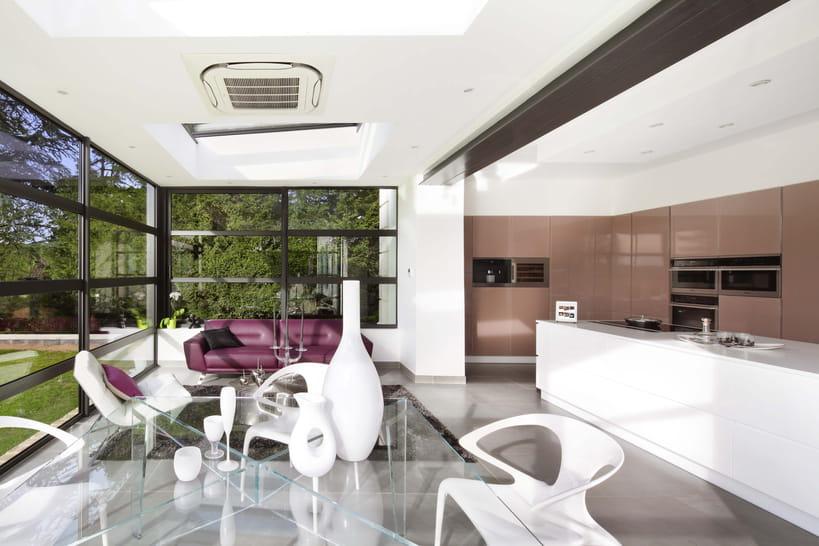 Une cuisine ouverte sur la v randa for Cuisine ouverte sur veranda