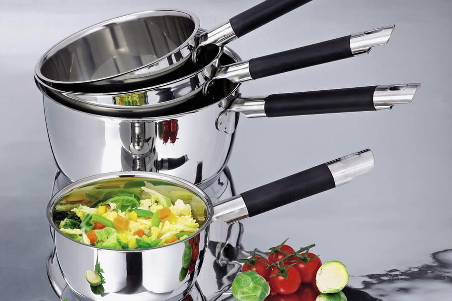 Concours: en avril, gagnez 5sets de 4casseroles Rapid Cook de Mathon