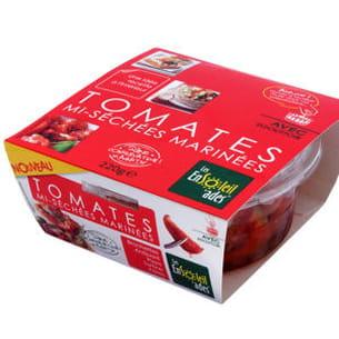 tomates mi-séchées marinées