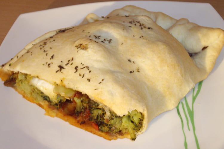Chausson express brocoli-ratatouille-Mozzarella