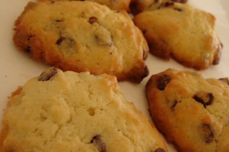 Cookies moelleux au chocolat au lait