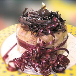 charlotte de noël aux marrons glacés
