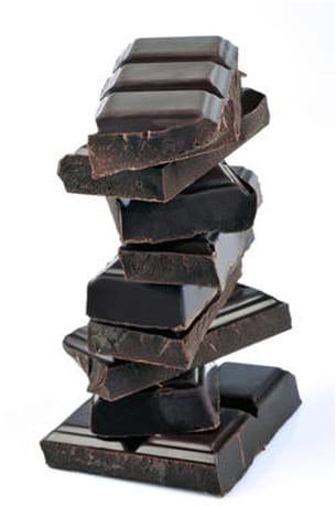 le chocolat est riche en magnésium.