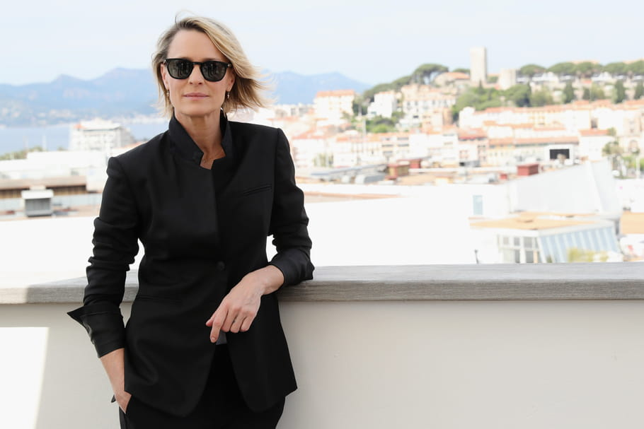 """Robin Wright à Cannes: """"Grandir en tant que femme m'a pris du temps"""""""