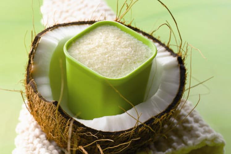 Douceurs de noix de coco et caramel
