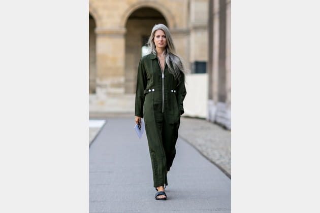 Street style à Paris : la combi' pantalon
