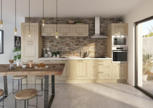 cuisine cooke lewis kadral de castorama. Black Bedroom Furniture Sets. Home Design Ideas