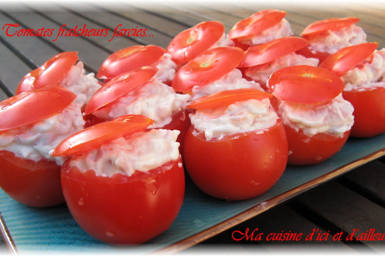 Tomates fraîcheurs farcies