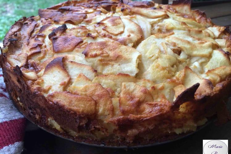 Gâteau aux cent couches de pommes
