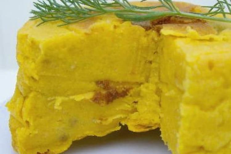 Fondant à la carotte au curry