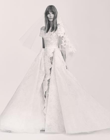 Une robe de mariée unique