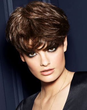 Coupe courte : Collection Smoking Couture Franck Provost