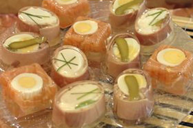 Aspics de jambon