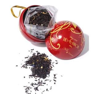 boule de thé étoile de noël