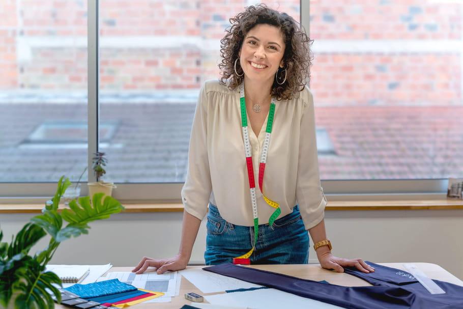 Marie Jagrik, finaliste du Trophée Perle de Lait 2020, créatrice de Wakae