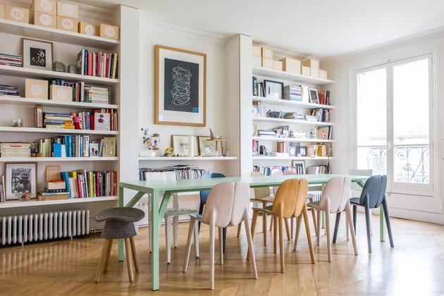 Appartement pastel et coloré